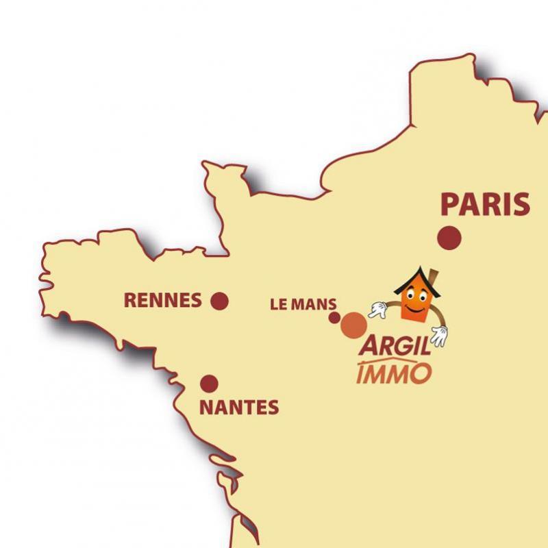 ARGILIMMO, agences immobilière situées au coeur du Grand Ouest, entre Paris et Nantes